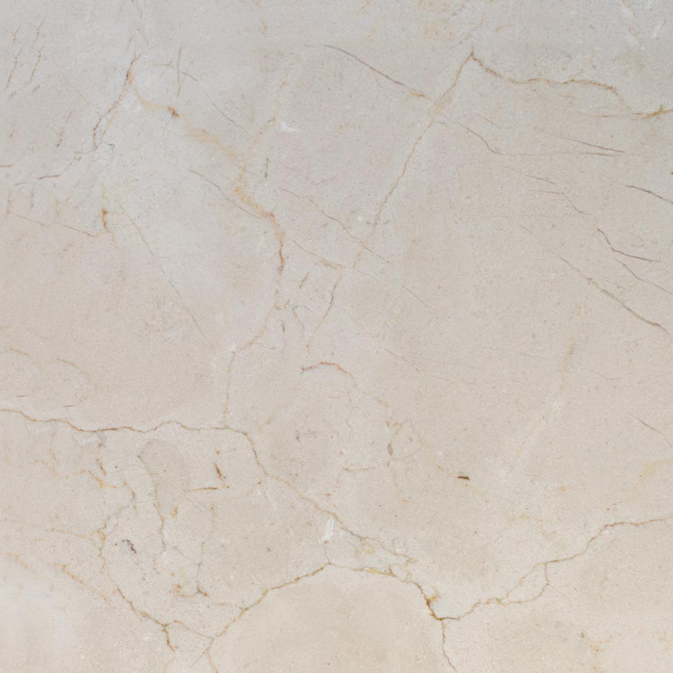 Crema Marfil Marble Tile Honed Beige 12 Inch X 12 Inch
