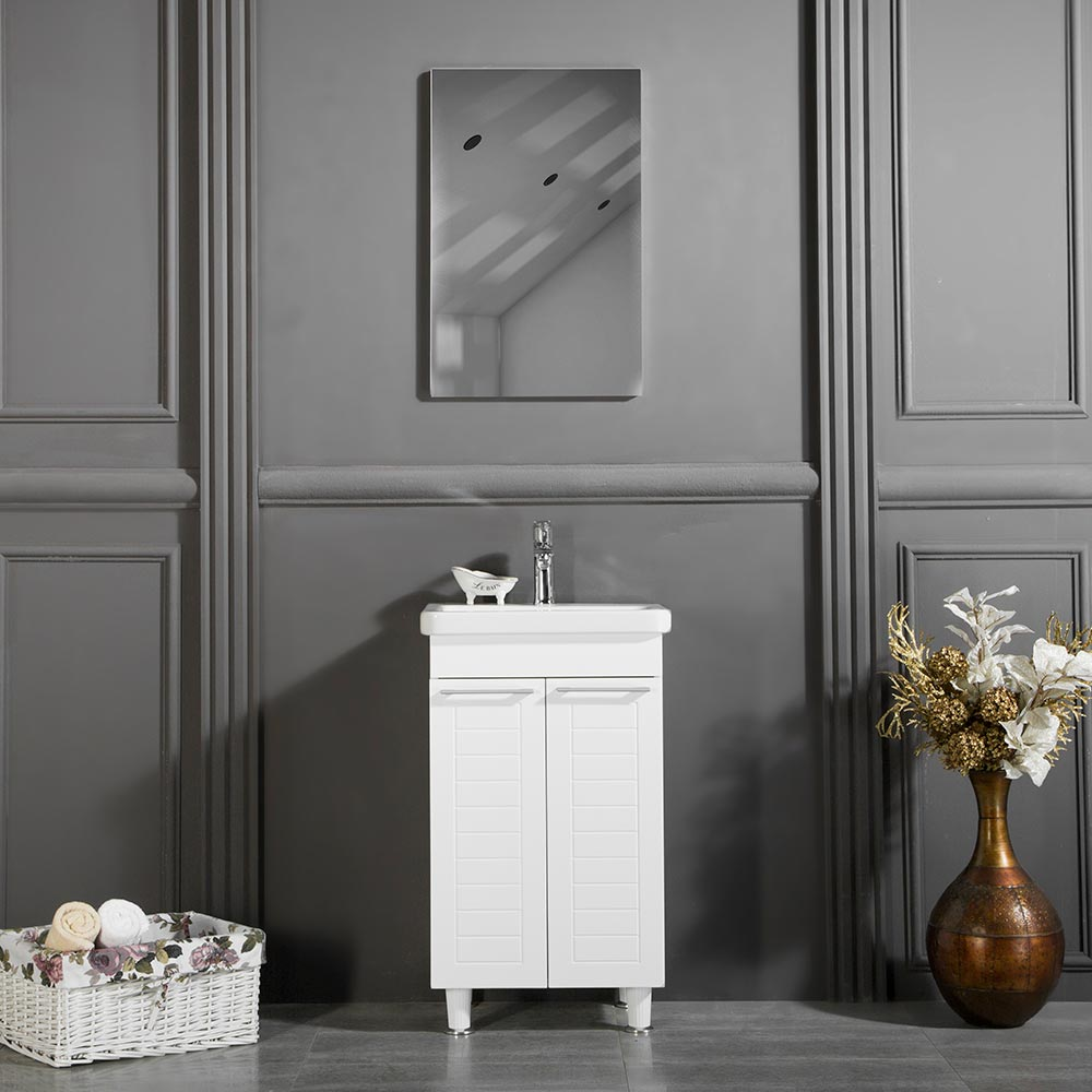 Clifton 19 3 4 Inch White Bathroom Cabinet Vanity Sale