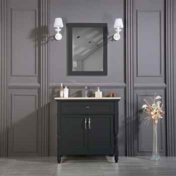 "Paterson 36"" Anthracite Bathroom Cabinet"