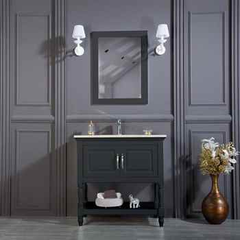 "Hamilton 30"" Anthracite Bathroom Cabinet"