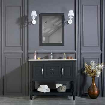 "Hamilton 42"" Anthracite Bathroom Cabinet"