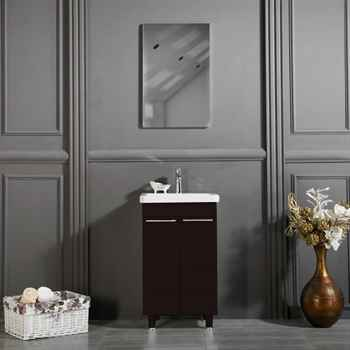 "Clifton 19 3/4"" Cafemocca Bathroom Cabinet"