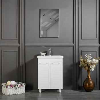 "Clifton 24"" White Bathroom Cabinet"