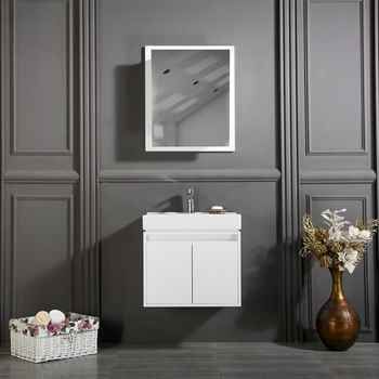 "Brick 24"" White Bathroom Cabinet"