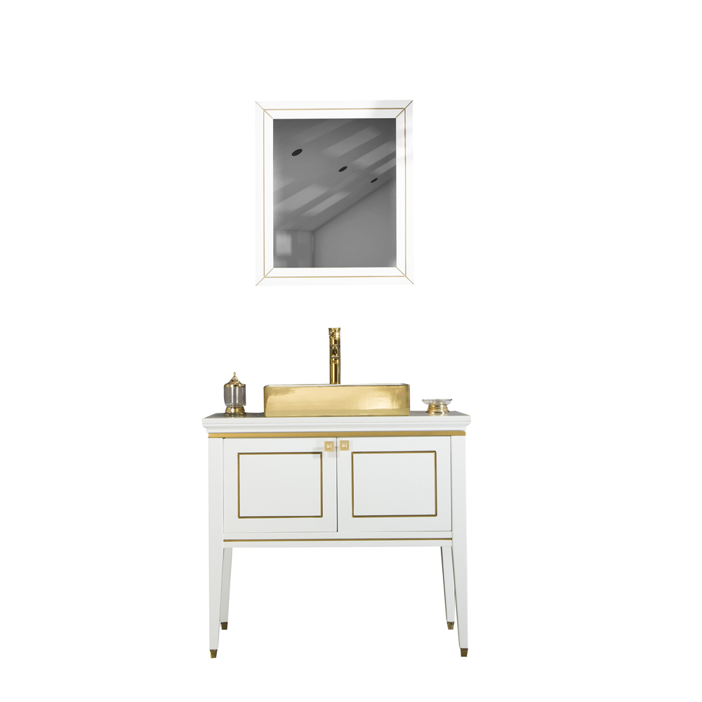 28 Inch Bathroom Vanities Gold Sink