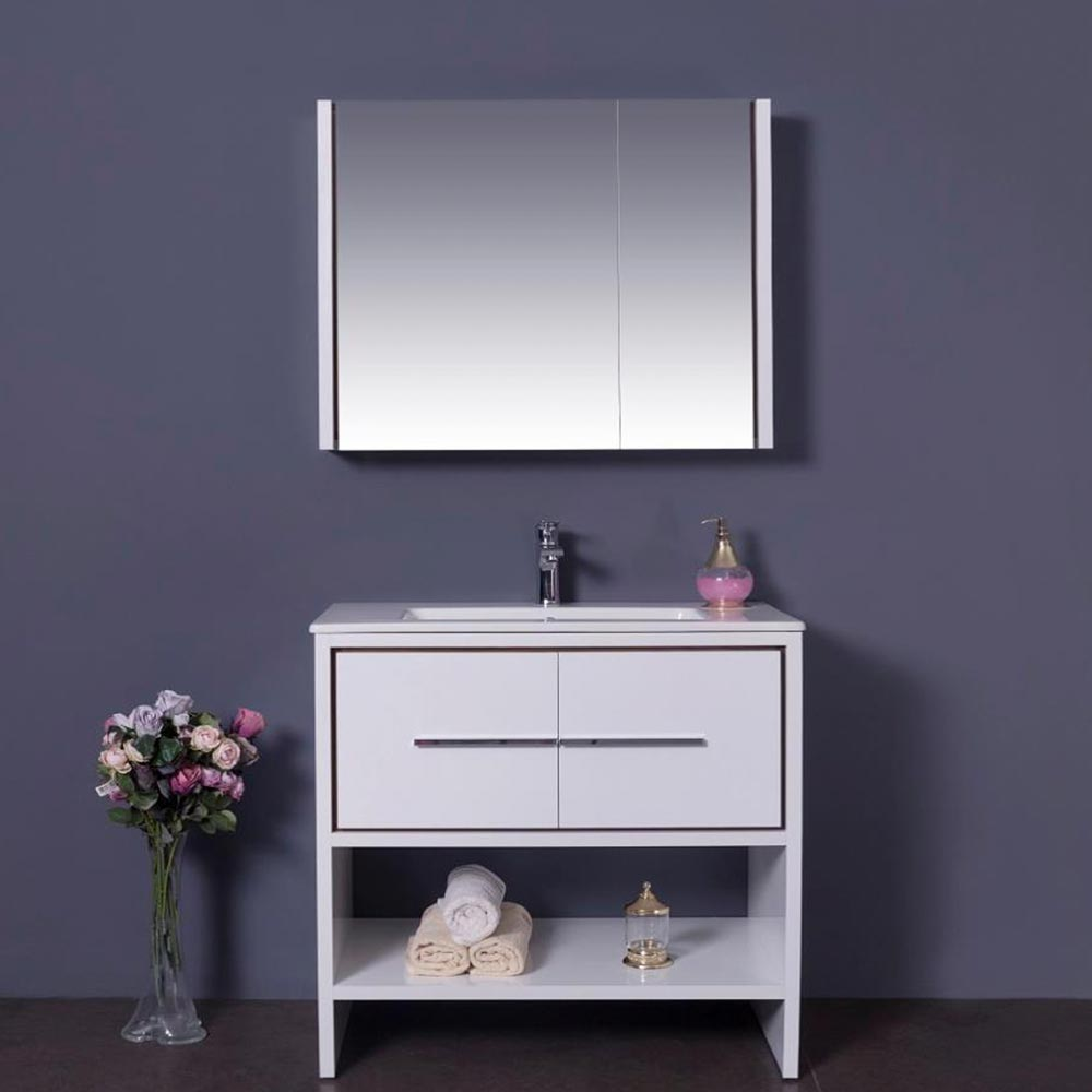 Union City White 32 1 4 Inch Medicine Cabinet Vanity Sale